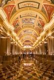 A decoração venetian Macau do hotel Fotografia de Stock Royalty Free