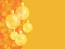 Decoração vermelha morna denominada moderna do Natal. fotografia de stock