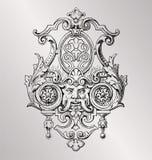 Decoração vitoriano Fotografia de Stock Royalty Free