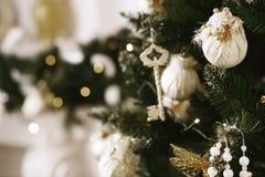Decorações bonitas do Natal Imagens de Stock