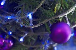 Decorações bonitas do Natal Foto de Stock