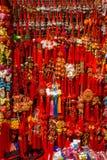 Decorações chinesas Fotografia de Stock
