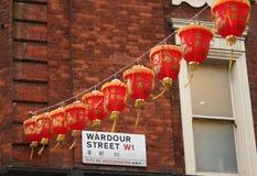 Decorações chinesas do ano novo Fotografia de Stock Royalty Free