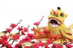 Decorações chinesas do ano novo Foto de Stock
