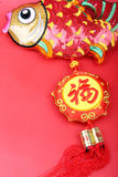 Decorações chinesas do ano novo, fotografia de stock