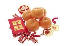 Decorações chinesas do ano novo fotos de stock