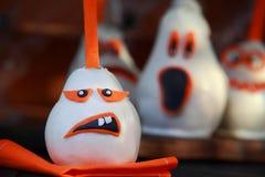 Decorações comestíveis criativas de Dia das Bruxas Foto de Stock Royalty Free