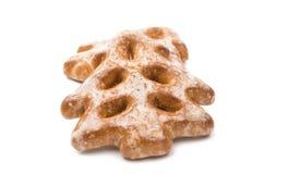 Decorações comestíveis das cookies do Natal Imagem de Stock Royalty Free