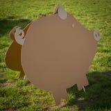 Decorações criativas do cartão imagens de stock royalty free