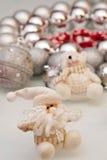 Decorações da árvore de Natal Imagem de Stock