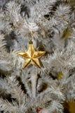 Decorações da árvore de Natal Imagens de Stock Royalty Free