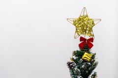 Decorações da árvore de Natal Foto de Stock