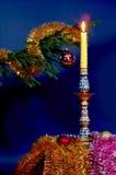 Decorações da árvore de Novo-Ano Imagens de Stock Royalty Free