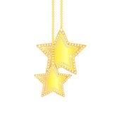 Decorações da árvore do Natal e de Natal Imagem de Stock Royalty Free