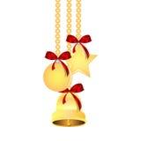 Decorações da árvore do Natal e do ano novo Imagens de Stock Royalty Free