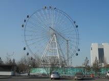 Decorações da cidade - roda nova da observação Imagens de Stock Royalty Free