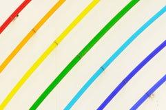 Decorações da cor Fotografia de Stock