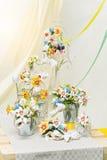 Decorações da flor Fotografia de Stock Royalty Free