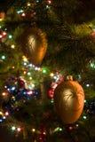 decorações da Natal-árvore Fotografia de Stock