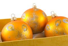 decorações da Natal-árvore Fotos de Stock