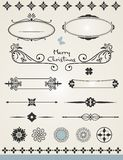 Decorações da página Imagem de Stock Royalty Free