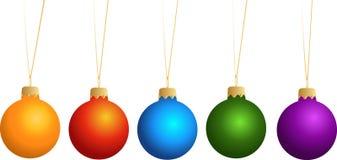 Decorações de ano novo Imagem de Stock Royalty Free