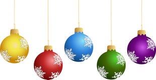 Decorações de ano novo Fotos de Stock