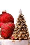 Decorações de Cristmas Fotografia de Stock Royalty Free