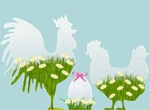 Decorações de Easter Fotografia de Stock