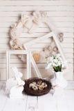 Decorações de Easter Imagens de Stock