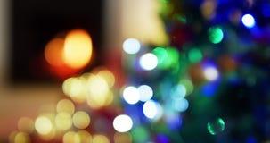 decorações de Natal em casa vídeos de arquivo
