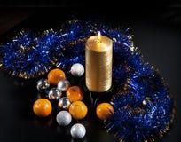 Decorações de Newyear Imagem de Stock Royalty Free