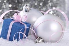Decorações de Novo-Ano Imagem de Stock