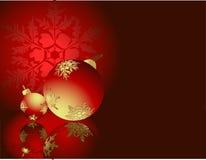 Decorações do ano novo Fotografia de Stock Royalty Free
