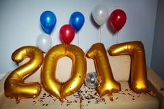 Decorações do ano novo Imagens de Stock