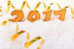 Decorações do ano novo Foto de Stock