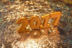 Decorações do ano novo Fotografia de Stock