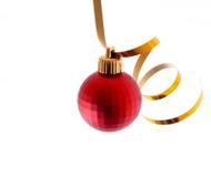 Decorações do ano novo e do Natal Foto de Stock Royalty Free