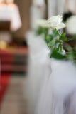 Decorações do casamento Imagem de Stock Royalty Free