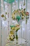 Decorações do casamento Imagens de Stock