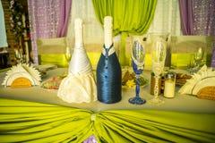 Decorações do casamento Foto de Stock