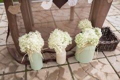 Decorações do casamento Imagens de Stock Royalty Free