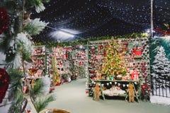 Decorações do centro de jardim Foto de Stock