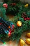 Decorações do feriado fotos de stock