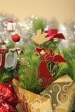 Decorações do feriado do Natal Fotografia de Stock Royalty Free