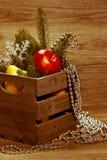 Decorações do feriado Foto no estilo retro Imagem tonificada Fotografia de Stock Royalty Free