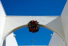 Decorações do feriado na vila de La Jolla Imagens de Stock Royalty Free