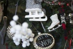 Decorações do feriado para a casa foto de stock