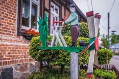 Decorações do jardim no Polônia Imagens de Stock Royalty Free