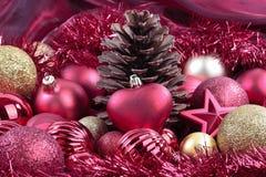 Decorações do Natal imagem de stock